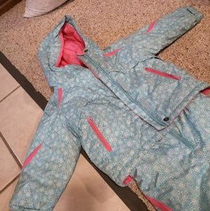 2T Columbia Snowsuit (Jacket and Bibs)